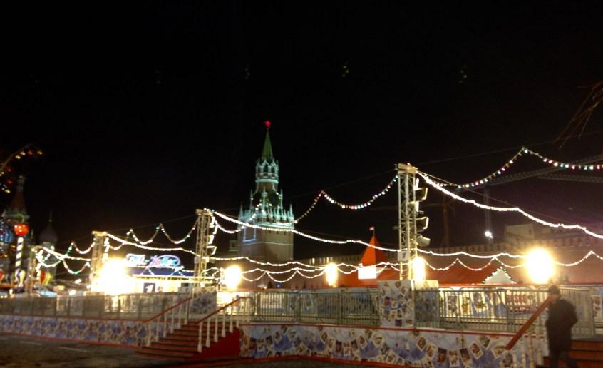 La Place Rouge et sa fête foraine