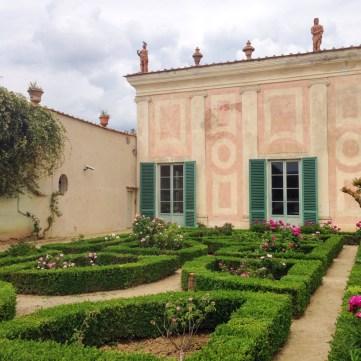 Le musée de la porcelaine dans le jardin Boboli
