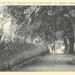 The East Walk – Convent of The Sacred Heart St. Joseph Mo