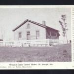 Original Jesse James Home 1941 St. Joseph, Mo.