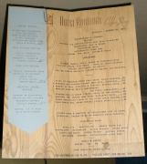 1941 Hotel Robidous Coffee Shop Menu