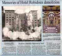 Hotel Robidoux Demolition