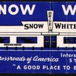 Snow White matchbook Cover St. Joseph Mo.