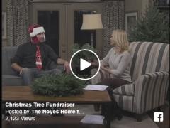 Noyes Home for Children Christmas Tree Fundraiser