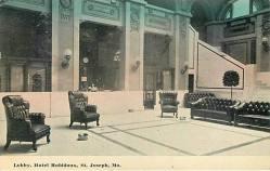 Hotel Robidoux Lobby 1911
