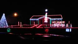 House that does Light Show in St. Joseph, MO.
