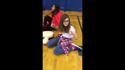 Video: CPR training at Eugene Field Elementary ended w/ a mannequin challenge.