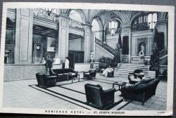 Hotel Robidoux Lobby 1936