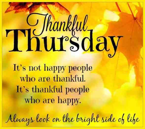 Thankful Thursday Images - Thursday Morning quotes