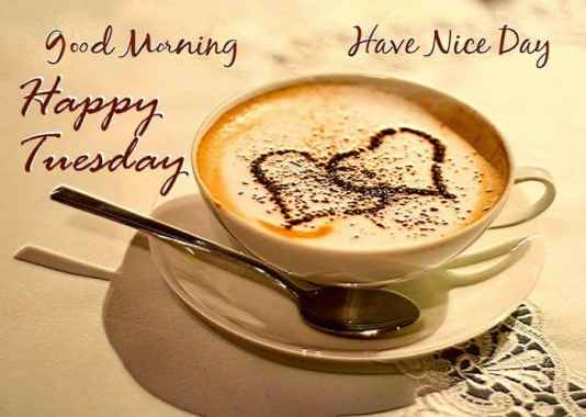 Tuesday Morning Coffee Quotes Images