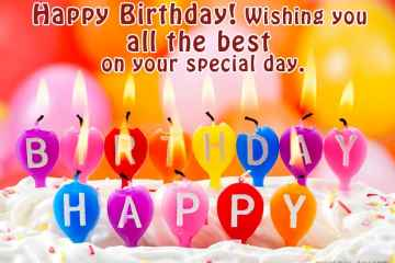 Happy Birthday Wish You All The Best Images