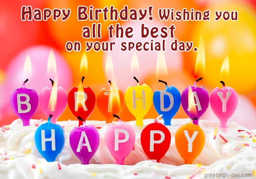 Happy birthday wish you all the best quotes birthday wishes messages happy birthday wish you all the best images m4hsunfo
