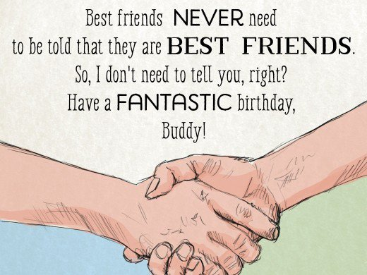 Short And Long Birthday Quotes For Best Friend