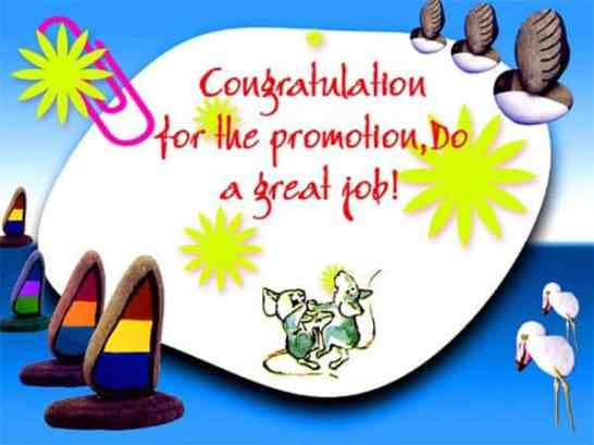 Congratulations on Your Promotion Quote with Images
