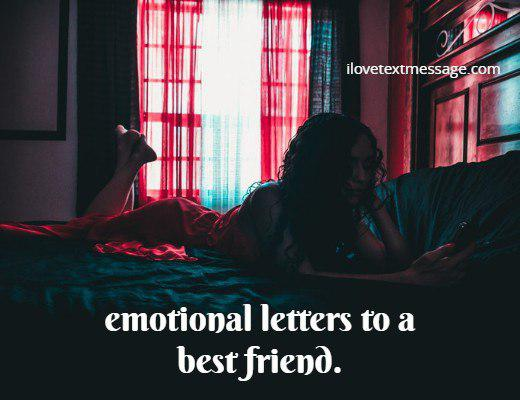 Emotional Letters For Best Friend