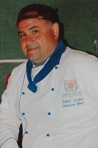Kövér Gábor, szakács
