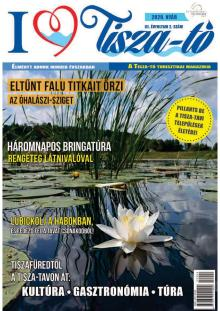 I love Tisza-tó magazin III. évf. 2. szám, 2020 nyár címlap