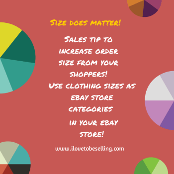 You can get bigger orders from your ebay store customers! Want to know how?