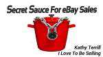 Secret Sauce For ebay Sales!