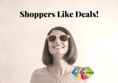 Shoppers Looks For Deals,Sales And Promotions!