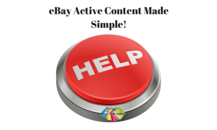 eBay Active Content Made Simple!