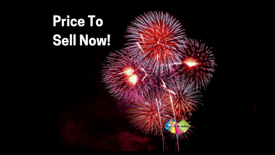 Exploding fireworks display reminds viewer to price their eBay item right!