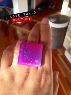 Anillo Galaxy i Love Tokio Couture