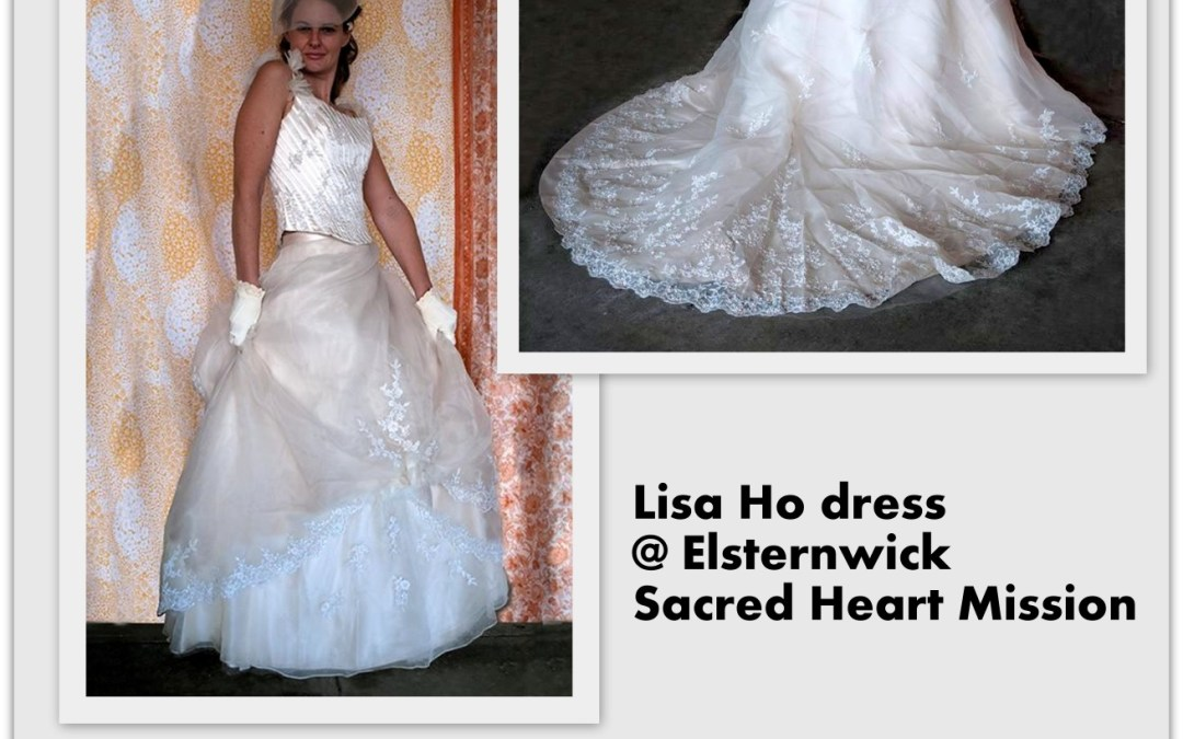 Lisa Ho Wedding Dress Looking for Love Again