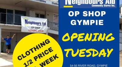 Neighbours Aid Op Shop Gympie