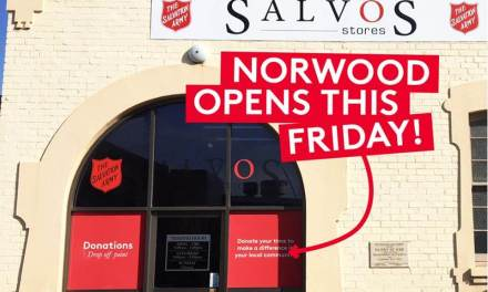 Salvos Stores Norwood Now Open!