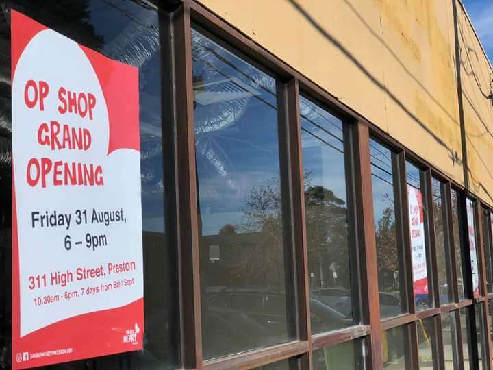 Preston Sacred Heart Mission Op Shop Opens This Month!