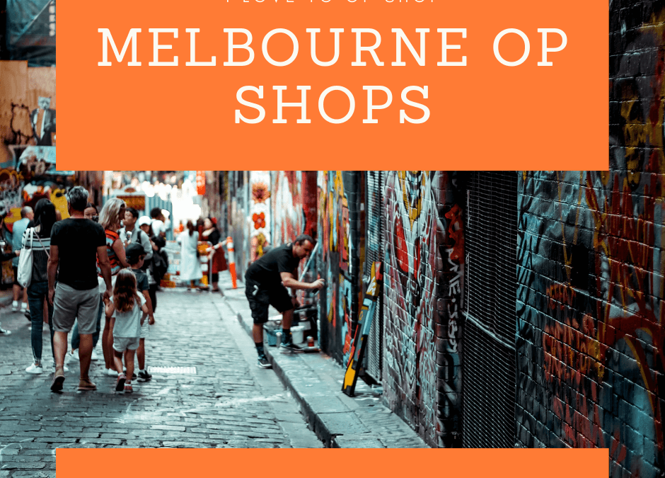 Melbourne Op Shops Map – Getting you to the best secondhand spots!