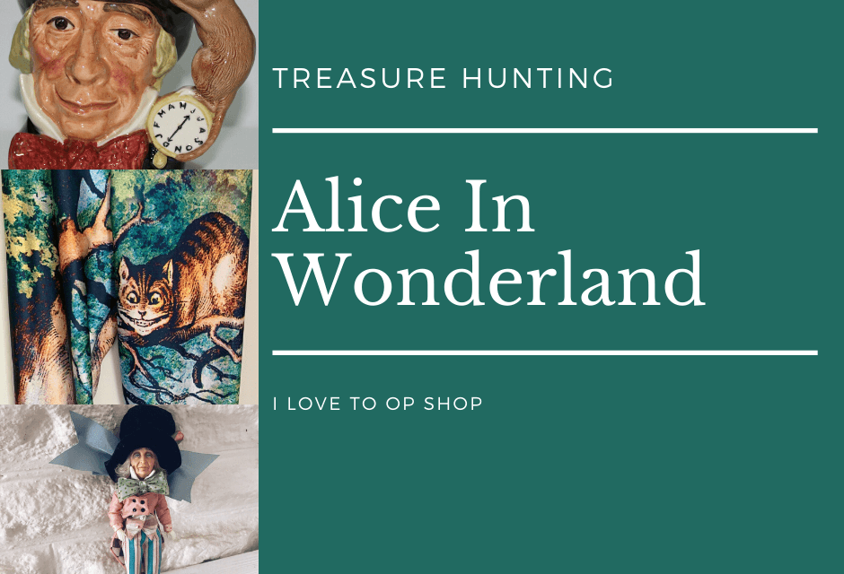 Alice In Wonderland Treasure Hunting