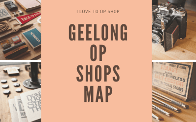 Geelong op shops map