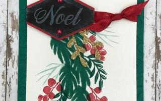 World Card Making Day – Peaceful Noel Card