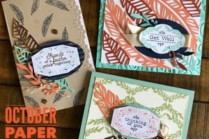 October Paper Pumpkin Alternative Card Ideas