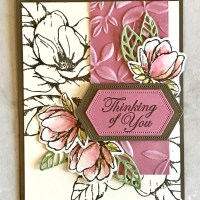 Good Morning Magnolia Thinking of You Card