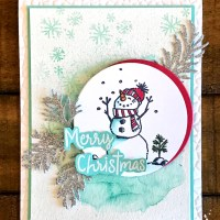 Snowman Season Card for the Ink It! Stamp It! Design Team Blog Hop