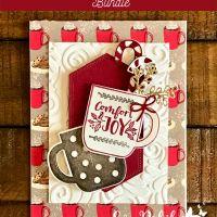Cup of Christmas Bundle Die-cut Card