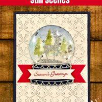 Still Scenes Globe Shaker Card