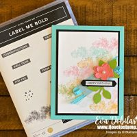 Label Me Bold Colorful Card