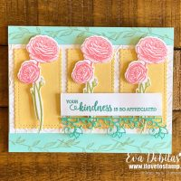 Flowering Blooms Kindness Card