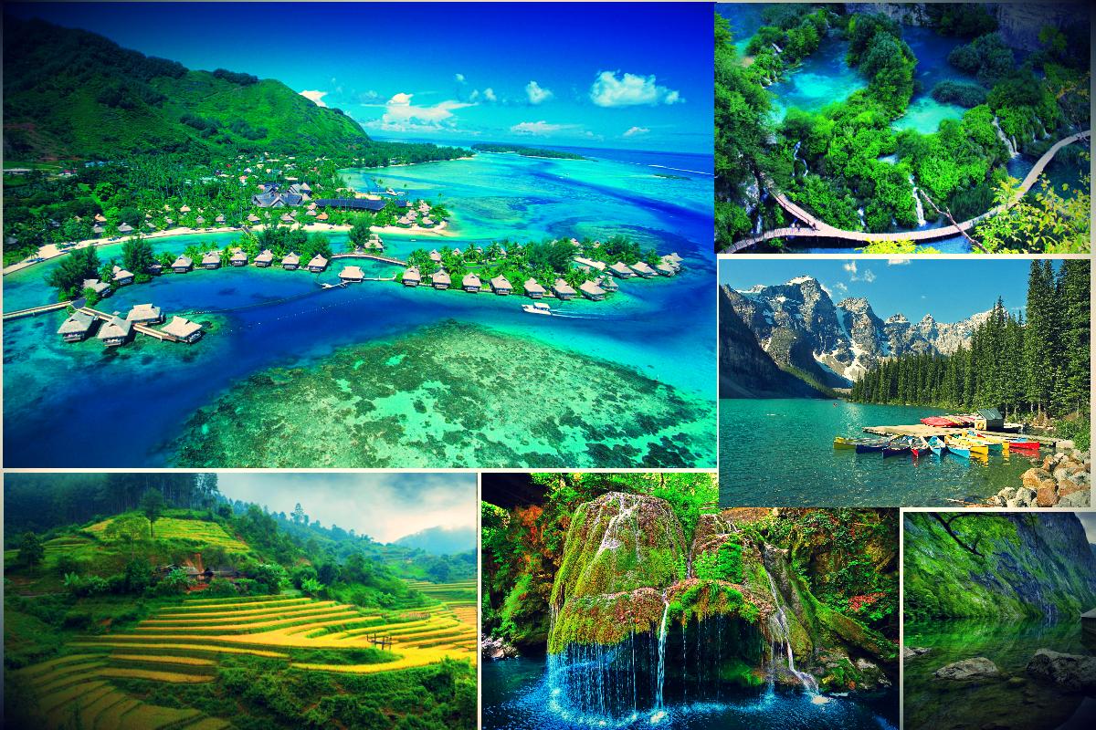 Beautiful Wonders Around The World
