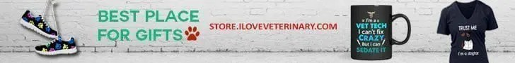 I Love veterinary store banner