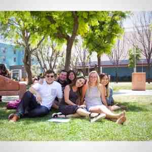 Trusten Moore with friends