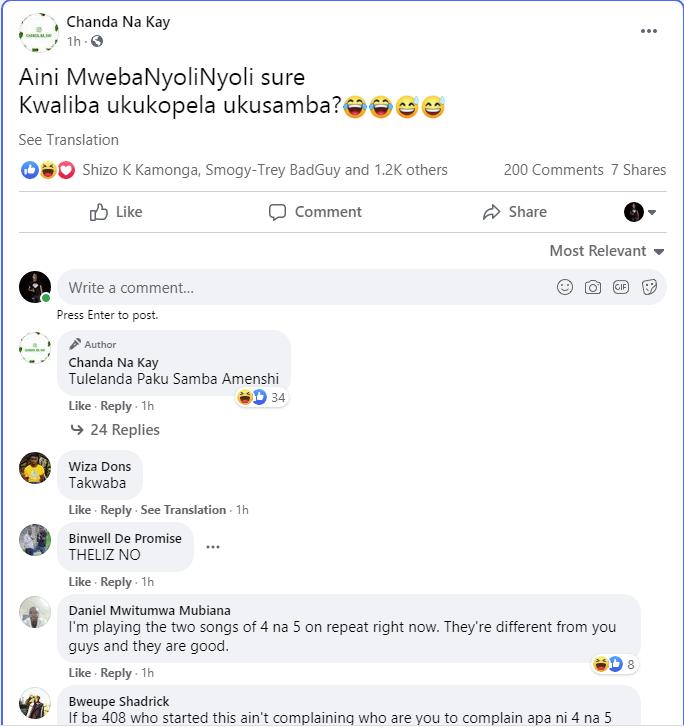 4 na 5 vs Chanda Na Kay