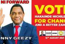 Sunny Geezy – HH Ni Forward (UPND Campaign Song)