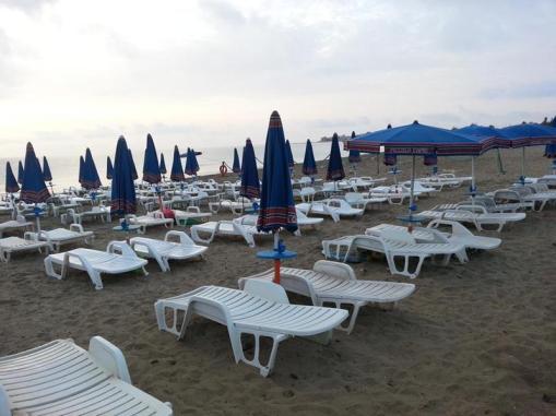 Spiaggia Villaggio Isola Blu Trilocali