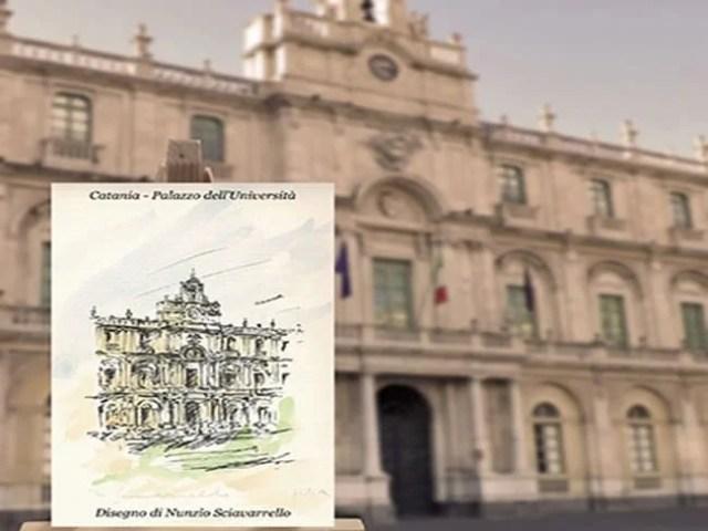 Calamita - Magnete del Palazzo dell'Università di Catania