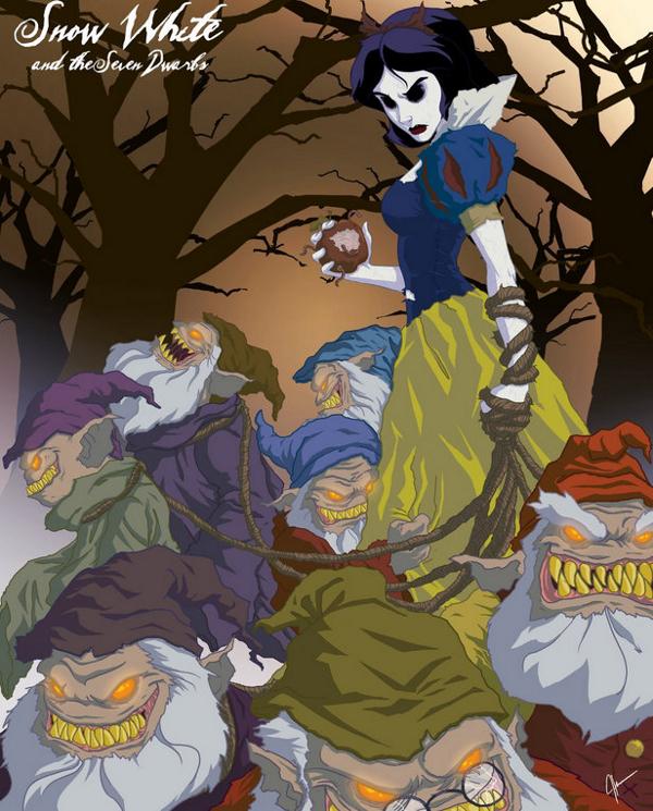 I veri finali horror dei cartoni Disney 5